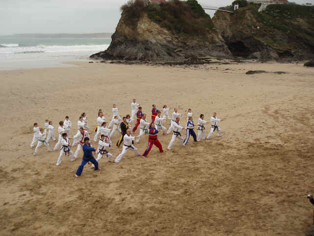 Christmas Beach Training 1