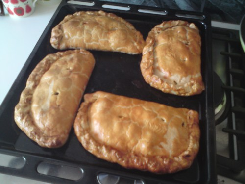 I wonder if you'd call this a swastika of pasties?