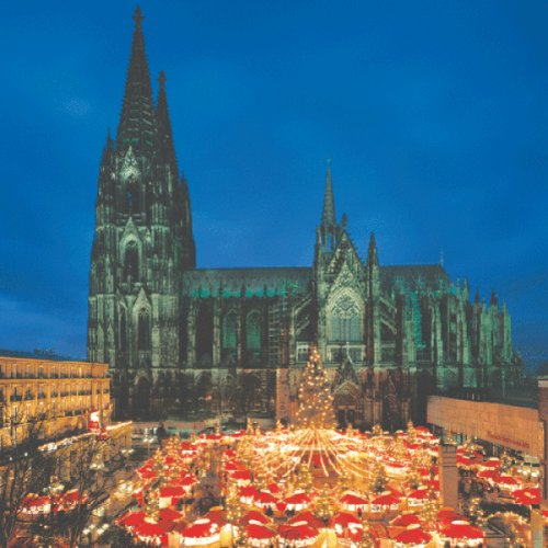 The Dom and Christmas Market in Cologne