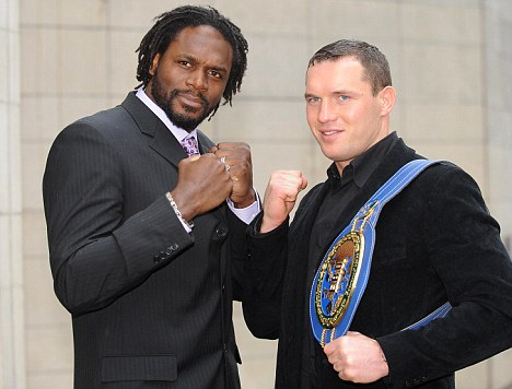 Audley Harrison and Albert Sosnowski