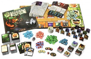 Arkham Horror components