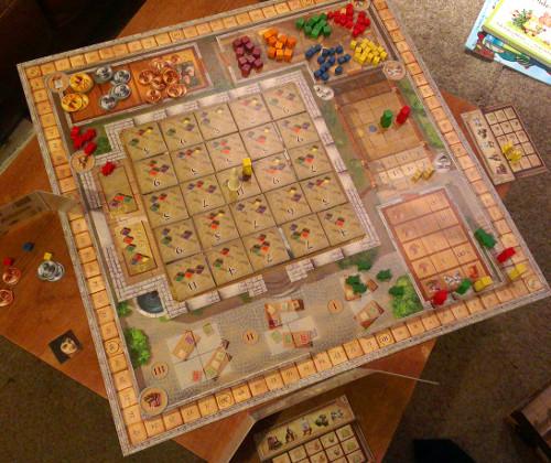 Fresco game board