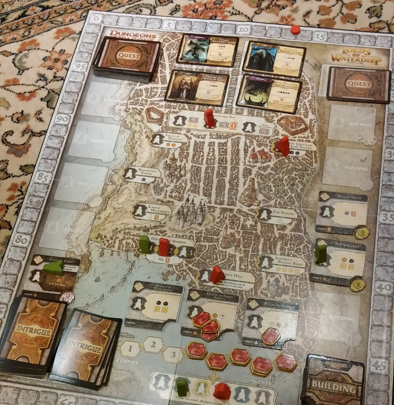 Lords of waterdeep board